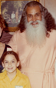 KO with Swami Satchidananda